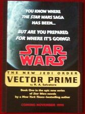 Star Wars: Vector Prime Promo Card From 1999 - The New Jedi Order