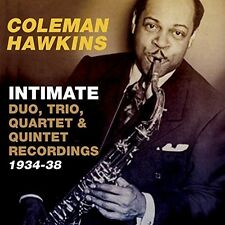 Coleman Hawkins - Intimate: Duo Trio Quartet & Quintet Recordings [New CD]