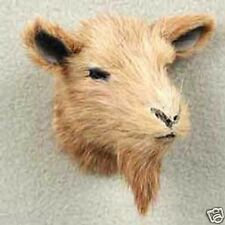 BROWN GOAT! Collect Fur Refrigerator Magnets (Handcrafted & Hand painted)