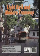 LIGHT RAIL AND MODERN TRAMWAY MAGAZINE - March 1995 - Vol. 58 - No. 687