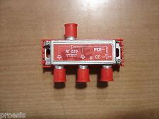 FTE AT220 shunt a 2 vías -20 dB conector F
