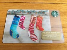 "Canada Series Starbucks ""HUNG WITH CARE 2015"" Gift Card - New No Value"