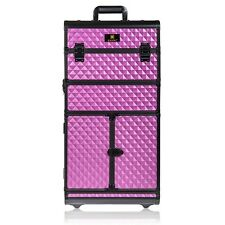 SHANY REBEL Series Pro Makeup Artists Rolling Train Case Trolley Case FREE SHIP