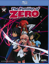 THE FAMILIAR OF ZERO Complete Season 1 - Anime Blu-ray BRAND NEW