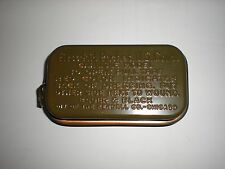 ORIGINAL WWII US ARMY CARLISLE BANDAGE IN METAL TIN FROM 1943 DATED CRATE