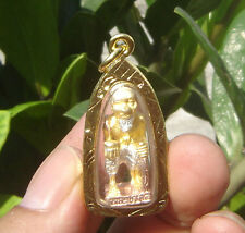 Case Quality Plated Gold Locket statue bronze Choo Chock LP Sakorn BE 2553