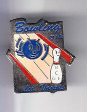 RARE PINS PIN'S .. SPORT BOWLING CLUB TEAM DES VOSGES EPINAL 88  ~CQ