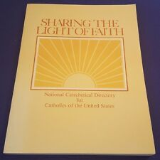 1979 SHARING THE LIGHT OF FAITH Paperback Book US CATHOLIC CONFERENCE of BISHOPS