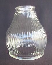 "Ribbed Glass Shade - 2 1/4"" Fitter - For Fan Lamp Sconce                 (SH190)"