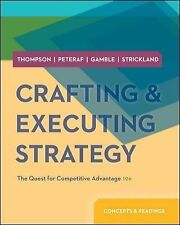 Crafting and Executing Strategy  19th Int'l Edition