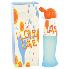 I Love Love By Moschino 1.0oz/30ml Edt Spray For Women New In Box