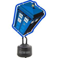 Dr Who - Tardis Blue Neon Light - New & Official BBC Merchandise In Box