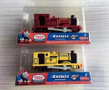 New boxed Thomas  friend trackmaster battery train engine RHENESA RED and YELLOW