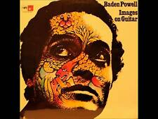 """BADEN POWELL - IMAGES ON GUITAR - ORIGINAL FRENCH """"MPS"""" LABEL LP - MPS 15078"""