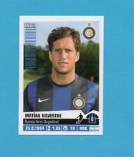 PANINI CALCIATORI 2012-2013-Figurina n.184- SILVESTRE-INTER -NEW