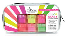 EzFlow Design Colored Acrylic Powders Color Blast Kit # 59096