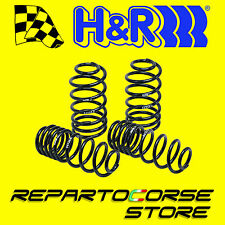 KIT 4 MOLLE SPORTIVE H&R HR -35mm Alfa MITO 1.4 Turbo Multiair QV omologato TUV