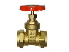 28mm Gate Valve | CxC Brass Gate-Valve