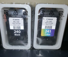 GENUINE CANON PG-240 BLACK & CL-241 COLOR INK CARTRIDGES for MG3520 MX472 MG2120