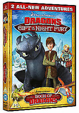 DREAMWORKS DRAGONS GIFT OF THE NIGHT FURY AND BOOK OF DRAGONS DVD KIDS