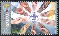 Armenia 2007 Europa/Scouts/Scouting/Youth/Leisure/Badge/Hands/Salute 1v (n44186)