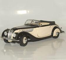 Guiloy Klassiker BMW 327 Cabriolet Baujahr 1937 Rarität schwarz beige, 1:18, W08