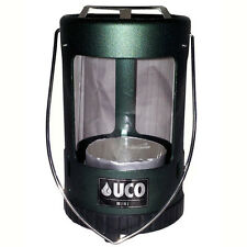 NEW UCO Mini Candle Lantern Green Anodized Aluminum Tealight Candle Tent Light