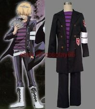 anime Hitman Reborn Belphegor Prince the Ripper cosplay costume any size