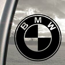 BMW logo funny bumper, car, window, ipad or laptop sticker