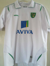 Norwich City 2012-2013 Away Shirt Size Large /40344