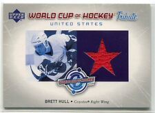 2004-05 Upper Deck World Cup of Hockey Tribute BH Brett Hull Jersey SP
