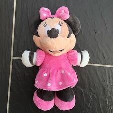 "DISNEY POSH PAWS MINNIE MOUSE SOFT TOY PLUSH COMFORTER TEDDY 9"" TALL CUTE"