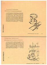 4 Original - Schriften Patent, Modellbau, Spielzeug, Bahn, Karussell,Toy ab 1982