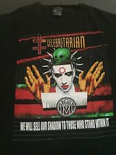 Vintage Marilyn Manson The Celebritarian T Shirt XXL By Giant Rare