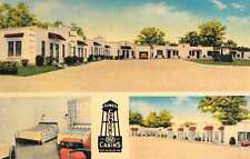 Poplar Bluff Missouri Tower Court Multiview Antique Postcard K53236