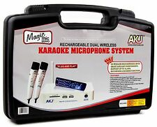 WIRELESS RECHARGEABLE KARAOKE MICROPHONE 4,000 SONGS  SPANISH