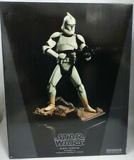 STAR WARS ATTACK OF THE CLONES : CLONE TROOPER PREMIUM FORMAT STATUE BY SIDESHOW