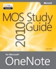 MOS 2010 Study Guide for Microsoft OneNote Exam (MOS Study Guide)-ExLibrary