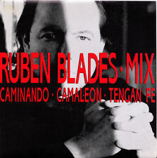 "RUBEN BLADES (MIX)-CAMINANDO + CAMALEON + TENGAN FE SINGLE 7"" VINYL 1991"