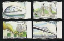 SINGAPORE 2009 BRIDGES PHILIPPINES JOINT ISSUE COMP. SET OF 4 STAMPS IN MINT MNH
