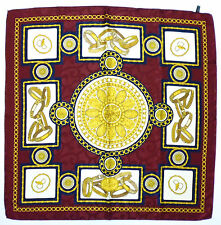 BASILE Foulard Seta Donna Grande Woman Big Heavy Silk Scarf With Tag