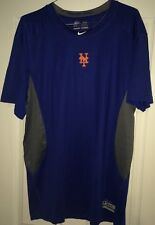 Nike Men's Pro Combat Authentic MLB NY Mets Shirt 3XL XXXL