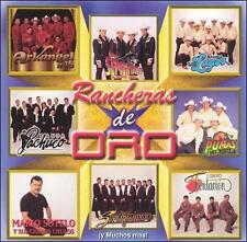 Rancheras de Oro 2002 by Various Artists (CD, May-2000, Luna Music Corporation)