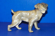 "Erphila Germany Dog Figurine Standing Mastiff? Bulldog? 5 1/4"" Tall Large Head"