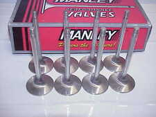 "Set of 8 Manley 11/32"" Stainless Steel Intake Valves 4.920"" - 2.02"" SB Chevy"