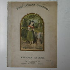 salon piano YOUNG IRELAND QUADRILLE wilhelm keller , nice cover art