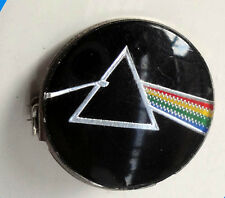 Vintage Pink Floyd Prismatic Crystal pin badge Prog Heavy Rock Guitar 1980's