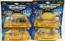 STAR WARS : X-RAY FLEET COLLECTION SERIES 1,2,3 & 4 MADE BY GALOOB IN 1995