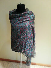 Double face shawl Head WRAP hat cover Plaids & Checks and floral scarf free ship