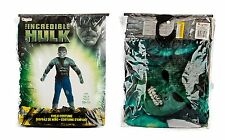NEW CHILD'S 10-12 MARVEL THE INCREDIBLE HULK FANCY DRESS COSTUME SUPERHERO KIDS